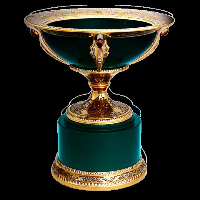 Чаша украшенная Богема