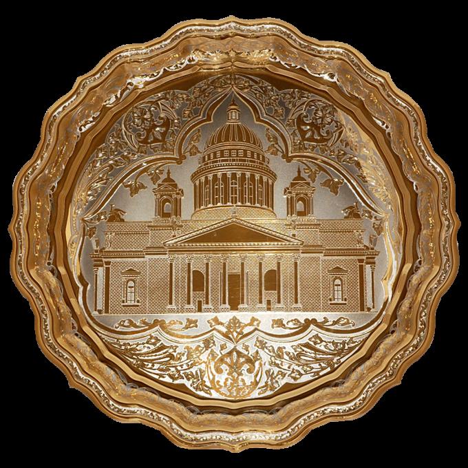 454e597aa7bdbcf82b2ccb1d79c023fe 680x680 - Блюдо Подарочное Исаакиевский Собор